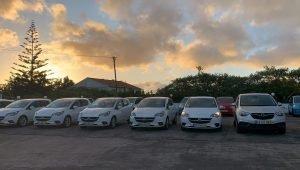 Carros de aluguer em Ponta Delgada
