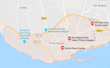Hotels in Ponta Delgada